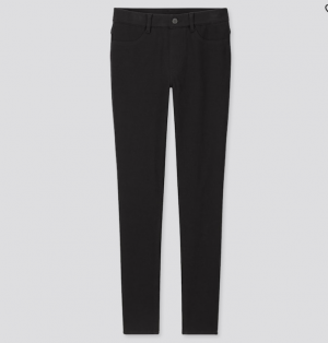 Uniqlo – Black jeggings
